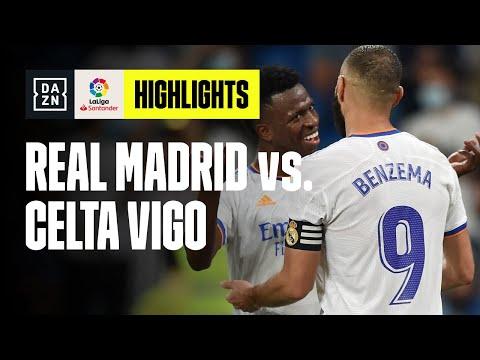 Ritorno a valanga al Bernabeu: Real Madrid - Celta Vigo 5-2   LaLiga   DAZN Highlights