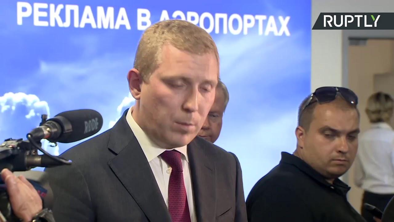 Пресс-подход замдиректора компании «Рампорт Аэро», которая занимается развитием аэропорта Жуковский