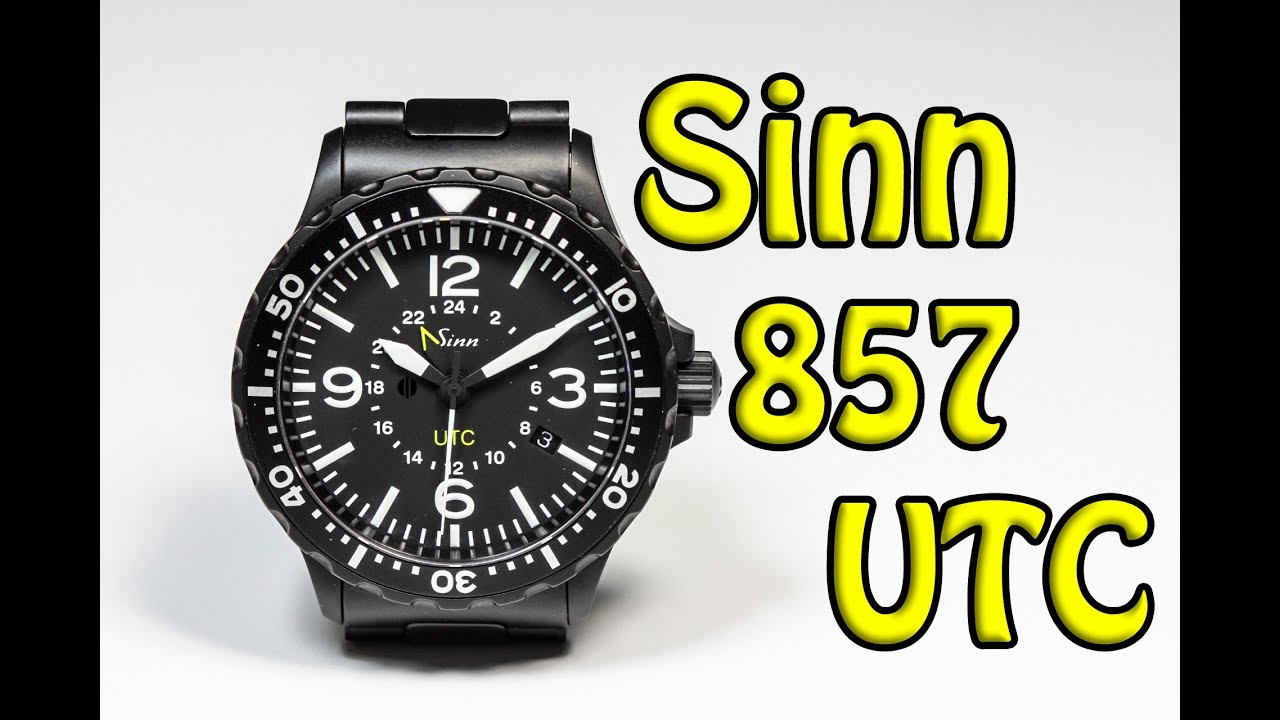 sinn 857 utc super tough watch youtube