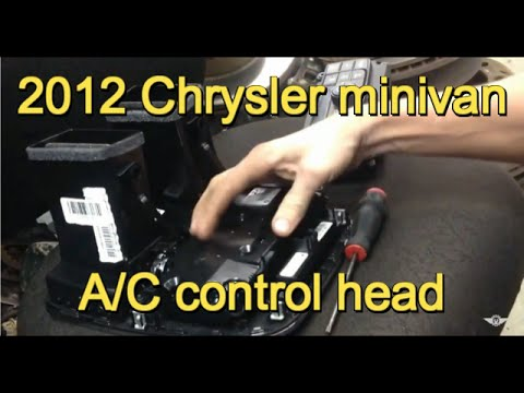 Fix Replace Chrysler Town Amp Country A C Control Backlig