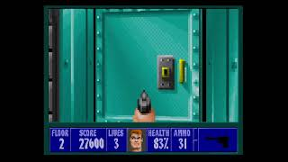 Wolfenstein 3D Playthrough Mission 3 Floor 2