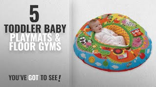 Top 10 Toddler Baby Playmats & Floor Gyms [2018]: Galt Toys Farm Playnest