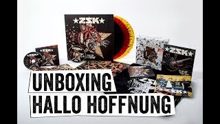 ZSK | Hallo Hoffnung | Unboxing des limtitierten Boxsets + Vinyl