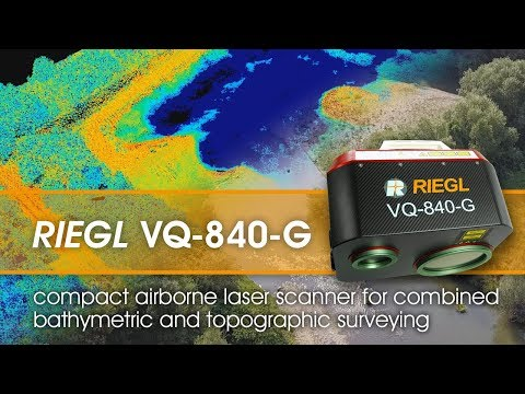The RIEGL VQ-840-G Airborne Laser Scanner For Topo-Bathymetric Surveying!