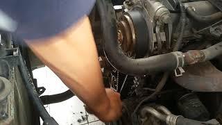 cara memasang timing belt
