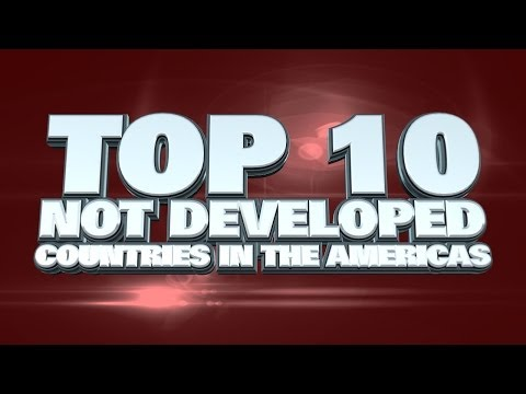 10 least developed countries in the Americas 2014