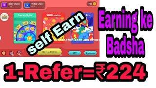 1=Refar ₹224||new money apps online||Paytm se paise Kaise kamaye