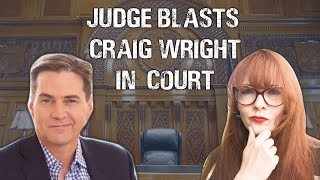 """Craig Wright """"not credible"""" says Judge, """"Forged docs"""""""