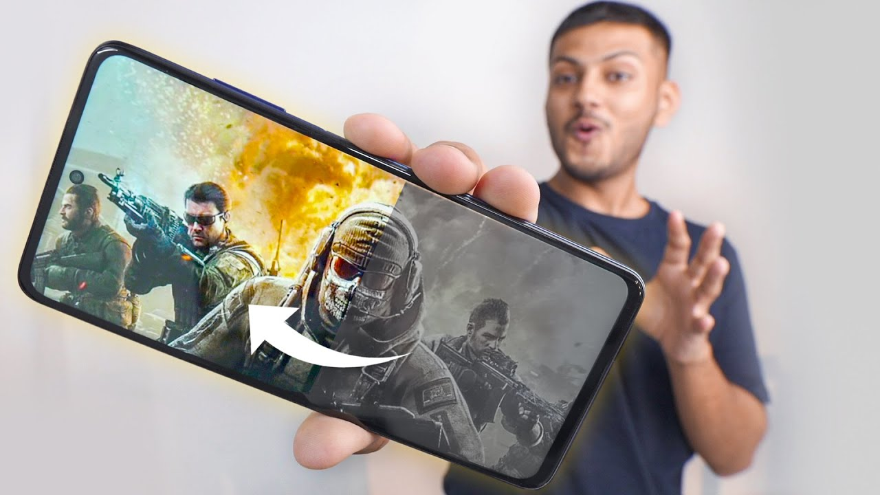 This Phone has Special Gaming Features !