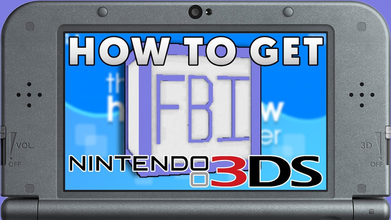 Complete Guide to Installing FBI on a Homebrewed Nintendo 3DS! Install  Legit CIAs (NO CFW)