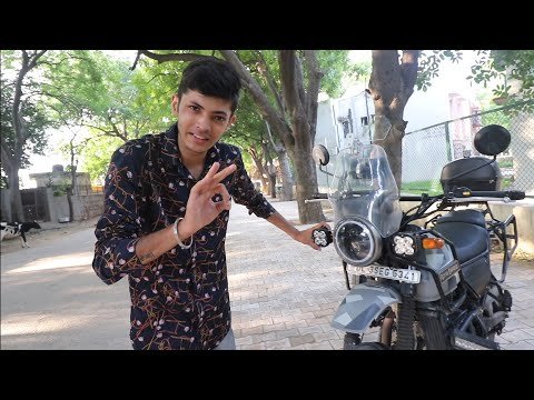 Touring Modification On My Royal Enfield Himalayan BS4