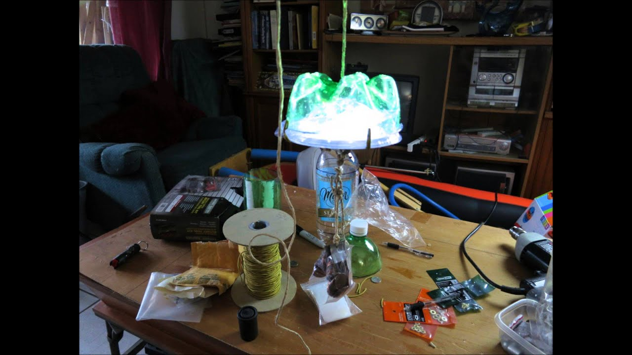 diy $15 green fishing light solar powered - youtube, Reel Combo