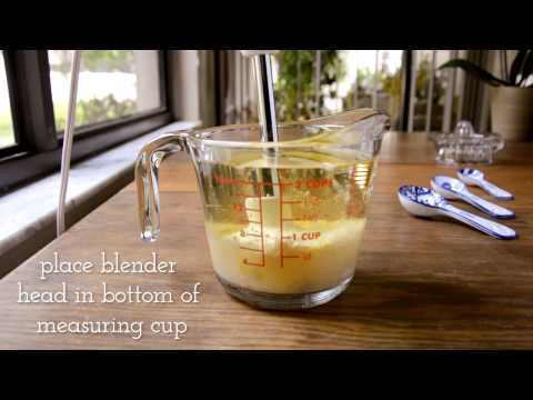 Immersion Blender Mayonnaise Recipe (Healthy, Paleo, Soy-Free)! Fast + Easy in less than 1 Minute