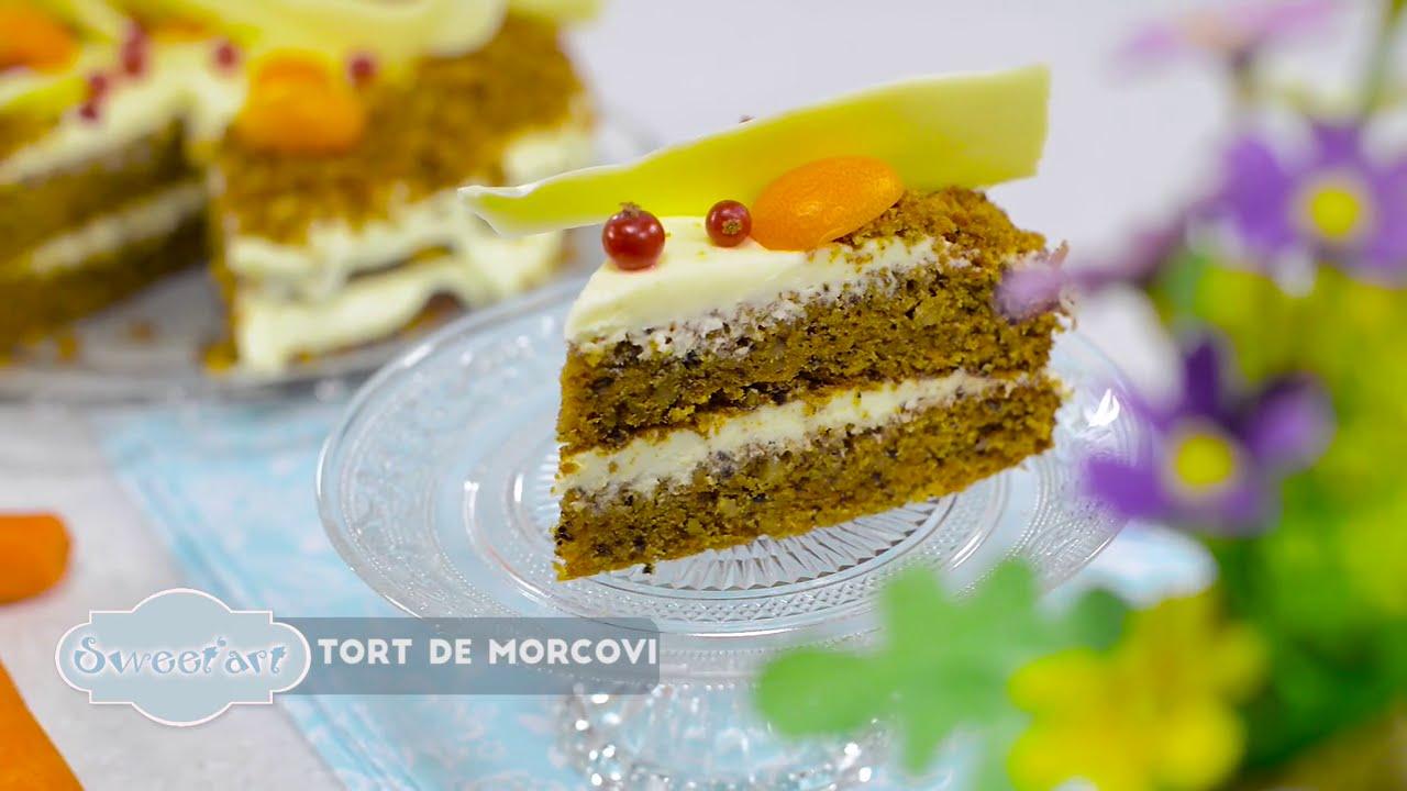Reteta - Tort de morcovi | Bucataras TV