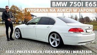 BMW 750i e65 - Niemiecki flagowiec z Japonii.