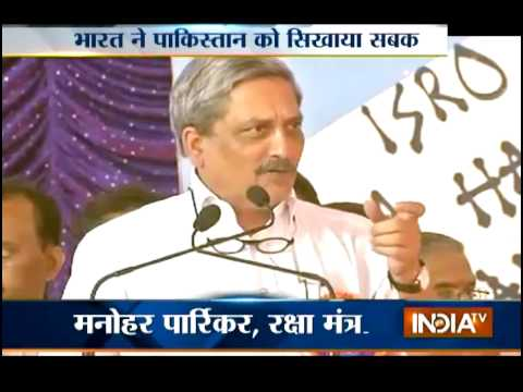 Defence Minister: Pakistan Does Not Seem to Learn Any Lesson - India TV