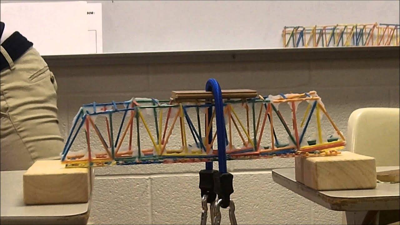 Toothpick Bridges Smcc 2013 14 Youtube