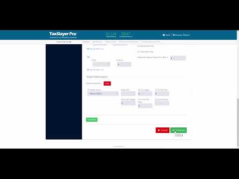 TaxSlayer ProWeb Amended Return