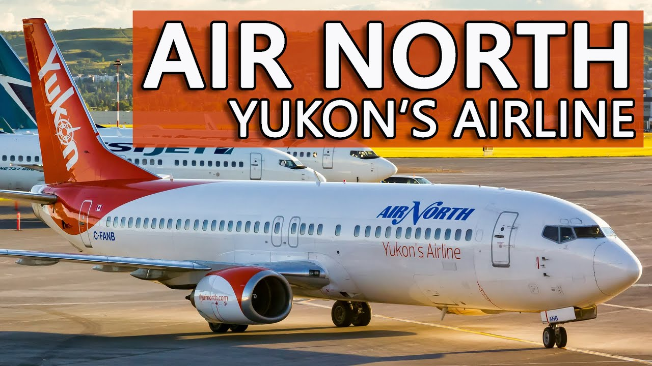 Flying with YUKON'S AIRLINE! Air North Boeing 737-400 Calgary to Whitehorse