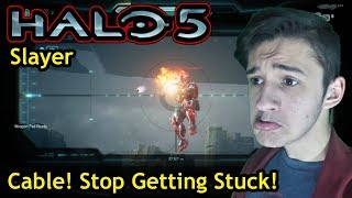 Cable! stop Getting Caught! [Halo 5 - EP:55] (Slayer on Coliseum)
