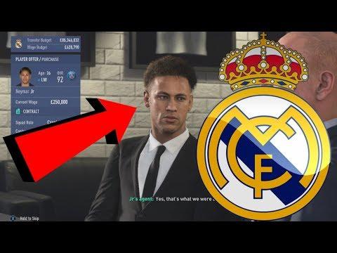 REAL MADRID FIFA 19 CAREER MODE #1 - REPLACING RONALDO WITH €200,000,000+ NEW TRANSFER! thumbnail