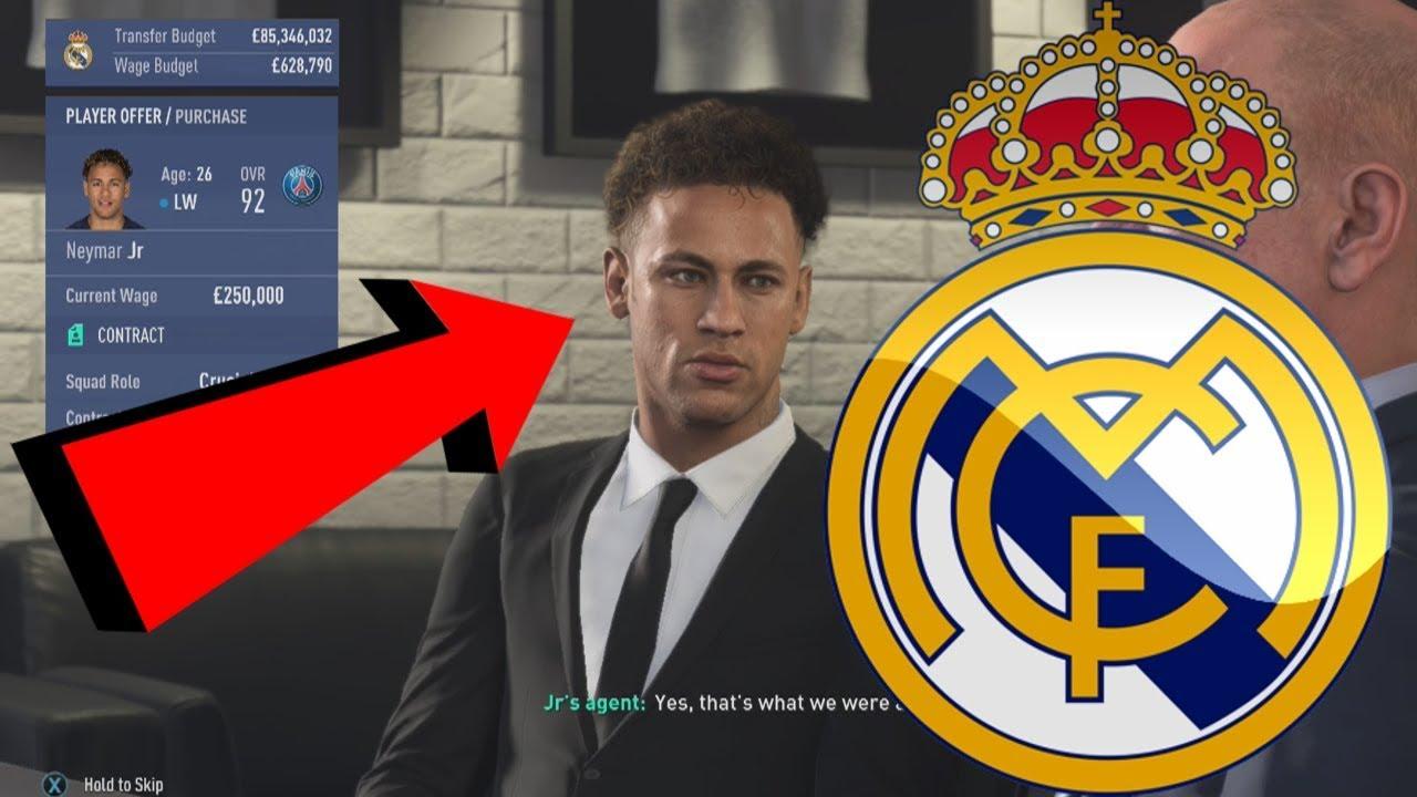 REAL MADRID FIFA 19 CAREER MODE #1 - REPLACING RONALDO WITH €200,000,000+ NEW TRANSFER!