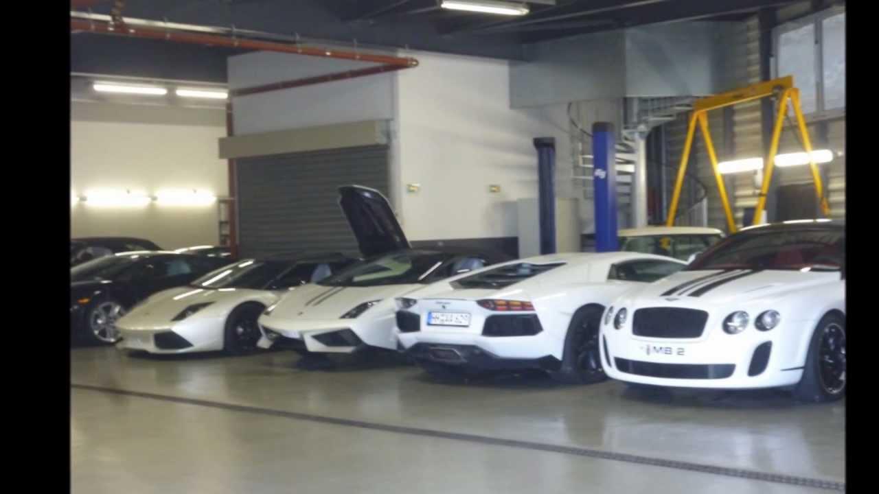 Crazy Supercars Garage In Monaco Lambo Bentleys Youtube