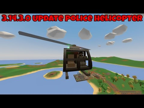 Unturned 3.14.3.0 Update New Helicopters