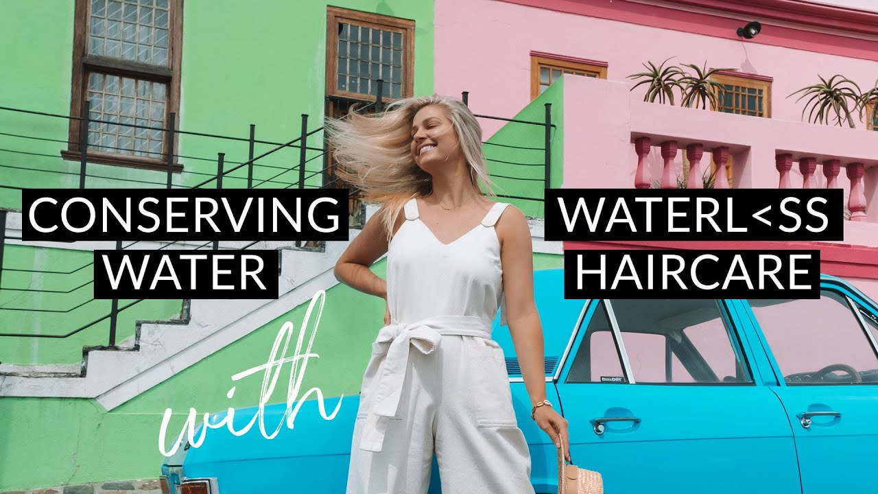 Conserving Water with Waterless Haircare