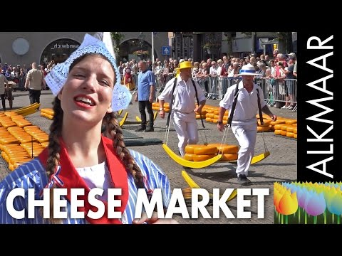 The cheese market at Alkmaar - Holland Holiday