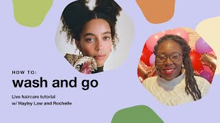 Lush Cosmetics: How To Wash And Go