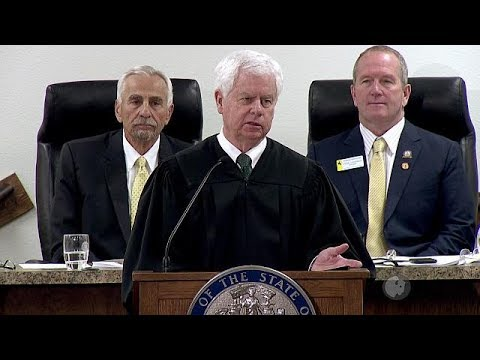 2018 State of the Judiciary - Wyoming Chief Justice E. James Burke