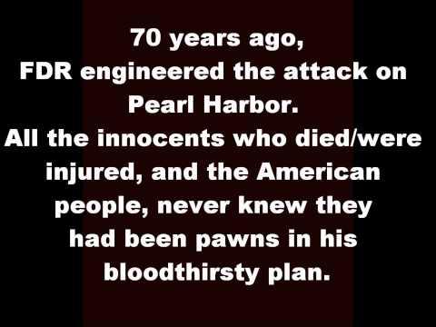 PEARL HARBOR - FDR's AMERICAN ATROCITY