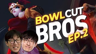 Doublelift - RUSH WITH THE INSANE GANKS (BOWLCUT BROS EP.2)