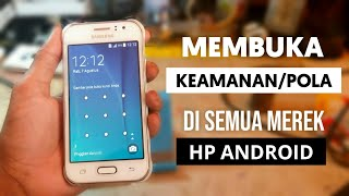 Cara hard reset Advan S40 dari android recovery mode dengan cara wipe data factory reset..