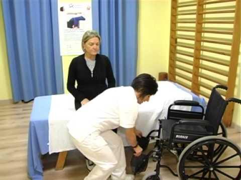 Mobilizzazione del paziente sul fianco doovi - Mobilizzazione paziente emiplegico letto carrozzina ...