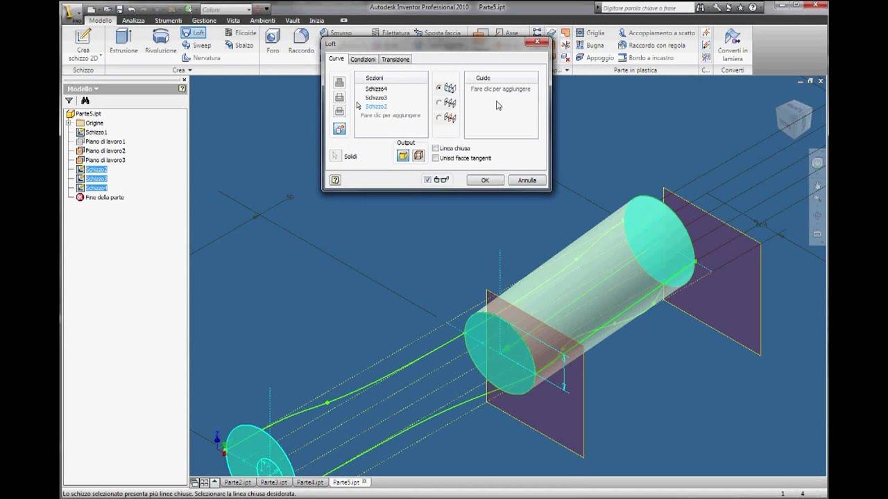 inventor autodesk tutorial parte04 italiano youtube rh youtube com manual inventor fusion 2013 pdf manual autodesk inventor 2013 pdf