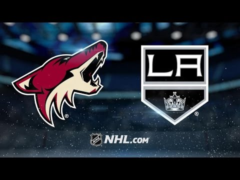 Arizona Coyotes Vs. Los Angeles Kings | NHL Game Recap | April 2, 2017