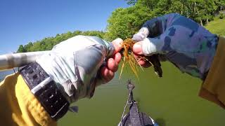 Early Summer Jig Fishing from Kayak. FS 128T