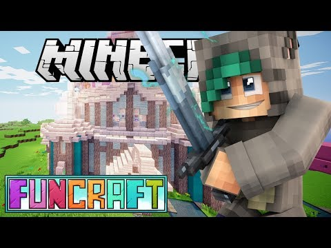 THE STRONGEST WEAPON ON THE SERVER?! - Minecraft FunCraft SMP - Ep.22