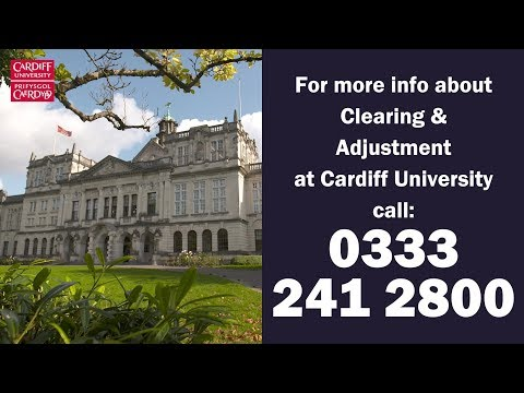 Clearing and Adjustment Advice from Cardiff University