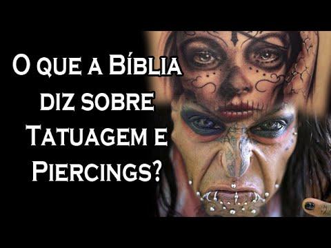 O que a Bíblia diz sobre Tatuagem e Piercings? - #canalguardeiafe