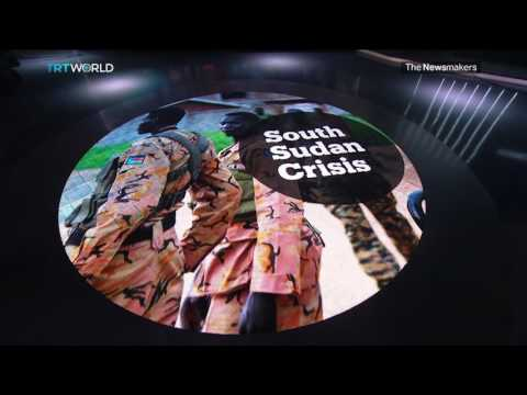 The Newsmakers: South Sudan Crisis and Kashmir Violence