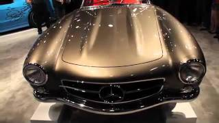 The redesigned BASF Mercedes 300SL Gullwing - 2011