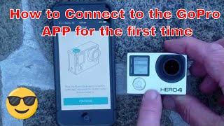 Video GoPro HERO4 - How to Connect to the GoPro APP for the First Time. download MP3, 3GP, MP4, WEBM, AVI, FLV Juli 2018