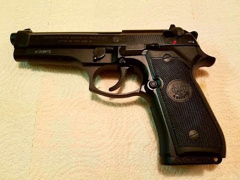 Beretta 92FS / M9 9mm disassemble and clean