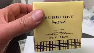 Best women perfume BURBERRY WEEKEND, 50 ml