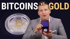 Bitcoin gegen Krügerrand 👾 Kryptowährung oder Gold? 👾