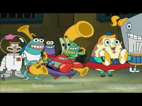 Squidward plays bad music (Jake Paul)