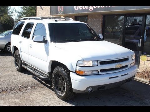 used 2005 chevrolet tahoe z71 for sale georgetown auto. Black Bedroom Furniture Sets. Home Design Ideas